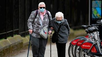 Ancianos durante de la pandemia