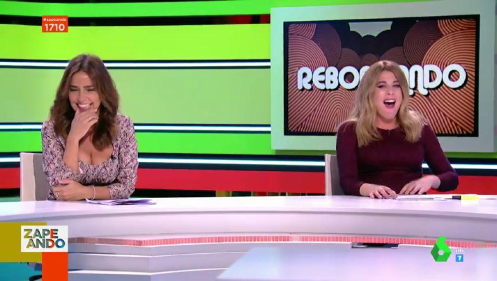 La divertida confesión de Carmen Alcayde a Valeria Ros sobre sus embarazos que desata los gritos de Dani Mateo