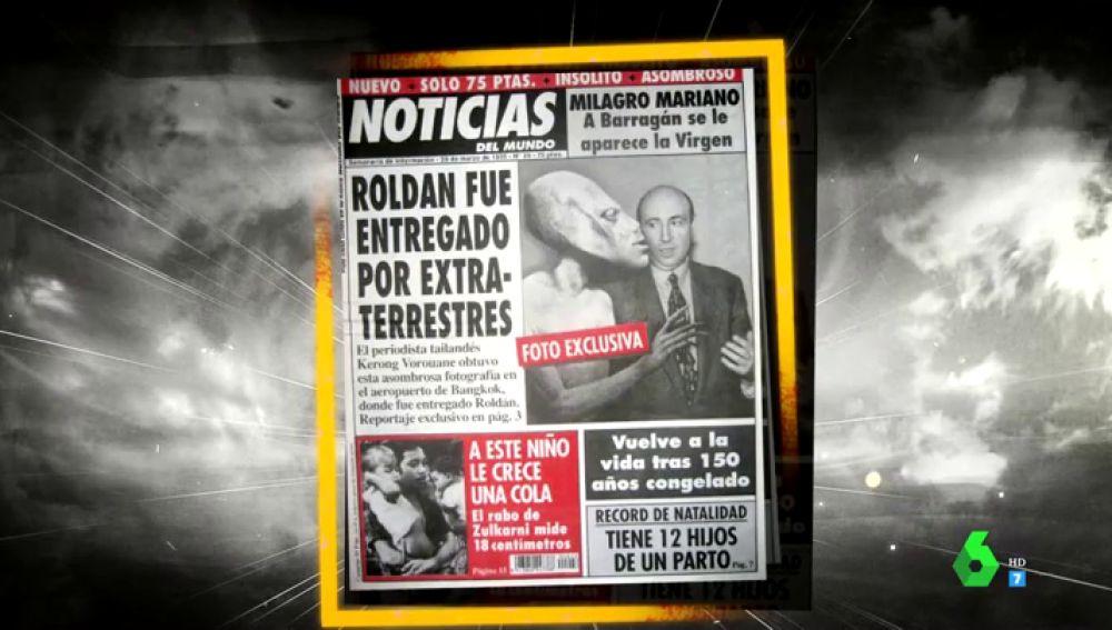 'Noticias del mundo': el periódico de noticias disparatadas que asustó a más de un español