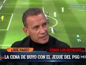 """La anécdota de Paco Buyo con el jeque del PSG: """"Cené con él en un McDonalds"""""""