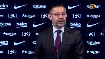Josep María Bartomeu presenta su dimisión