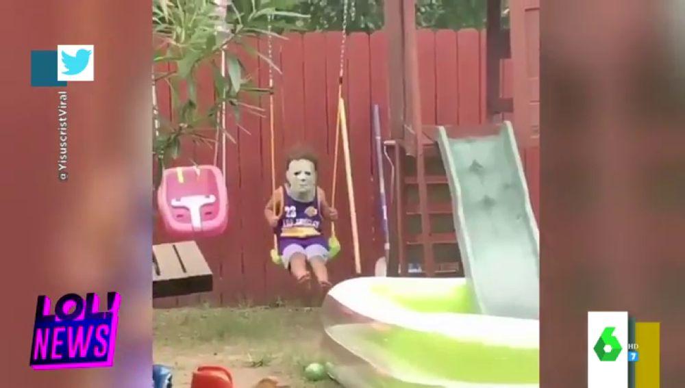 """El intrigante vídeo de Halloween que estremece a los zapeadores: """"¿Qué es eso?, parece la casa de un psicópata, ¡qué grima!"""""""