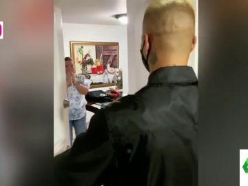El emotivo reencuentreo de Maluma con su madre tras cinco meses sin verse