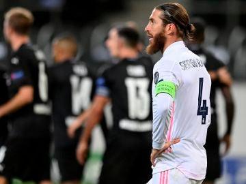 Sergio Ramos, abatido