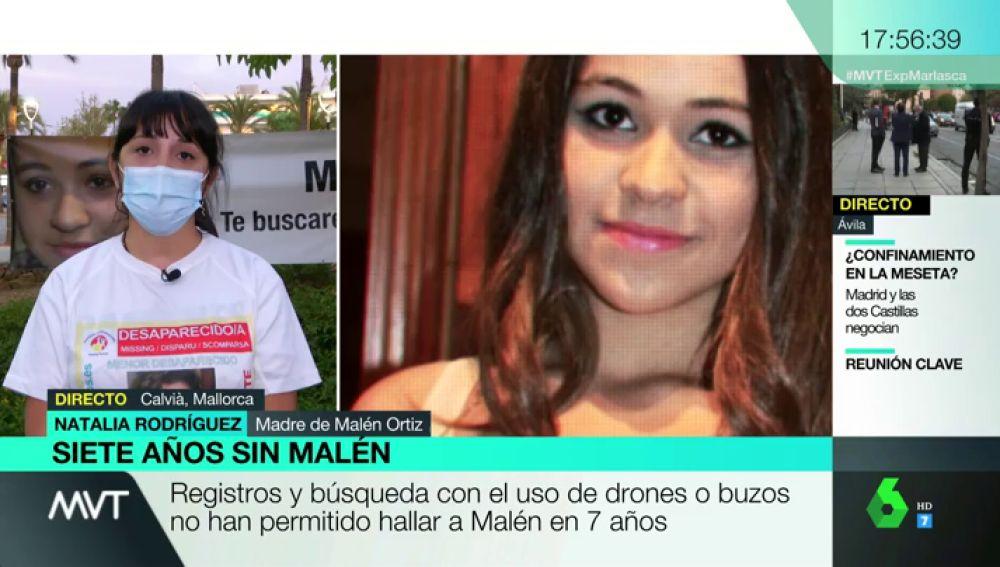 """El duro relato de la madre de Malén Ortíz, desaparecida desde 2013: """"Había muchas vías de investigación que se pasaron por encima"""""""