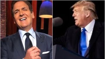 Mark Cuban y Donald Trump