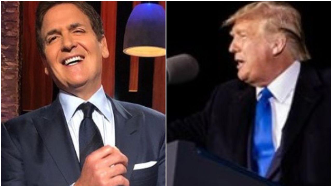 Mark Cuban y Donald Trump