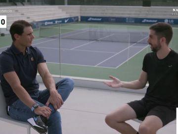 La confesión de Rada Nadal sobre Roger Federar que decepcionó a Dani Mateo y otros momentazos de su entrevista
