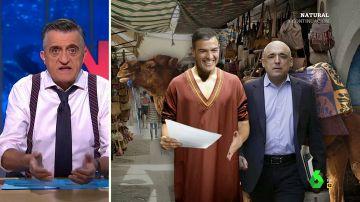 """El análisis de Wyoming a la oferta de Pedro Sánchez al Congreso: """"Negocia como si estuviera en un bazar de Marruecos"""""""