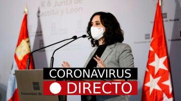 Estado de alarma por coronavirus en España, última hora del confinamiento y cierre de Madrid, EN DIRECTO