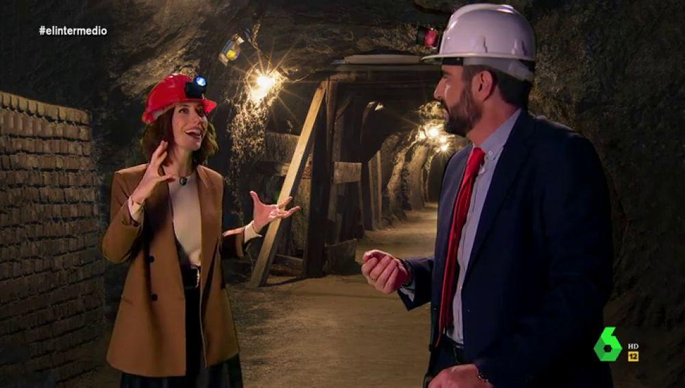 """El plan de Ayuso para liberar a través de un túnel a todos los madrileños al ritmo de 'Soy Minero': """"¡Vaya puente nos vamos a pegar!"""""""