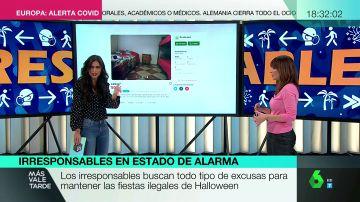 Fiestas 'non stop' e intercambio de parejas: así se saltan la ley los irresponsables de cara a Halloween