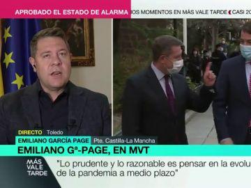 """García-Page: """"Hay muchos Madrid, y el de ayer era diferente en la reunión y en la rueda de prensa"""""""