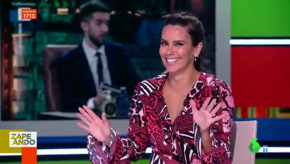 La inesperada broma de Cristina Pedroche en directo sobre Dabiz Muñoz con guiño a Estopa