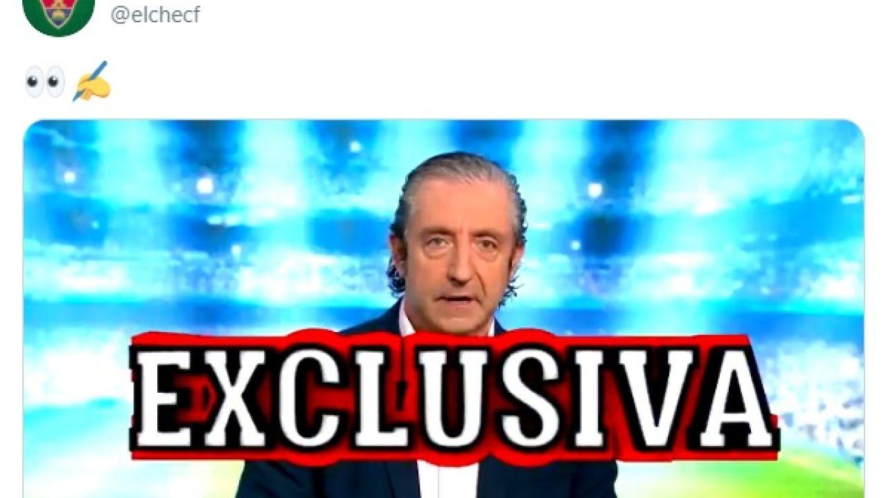 Josep Pedrerol anuncia una exclusiva del Elche
