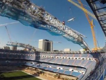 Obras en el Santiago Bernabéu