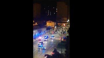 Imágenes de los disturbios en Gamonal