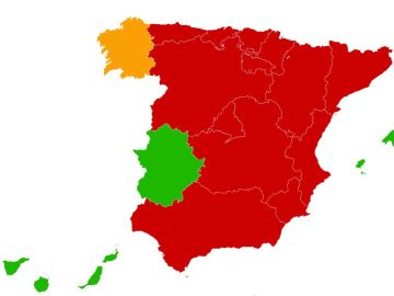Restricciones perimetrales en casi toda España