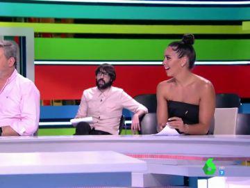 """El 'enfado' de Cristina Pedroche con Dani Mateo al poner en duda su buena relación con una zapeadora: """"Es mi mejor amiga de la tele"""""""