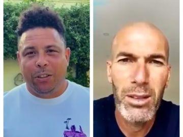 Ronaldo y Zidane