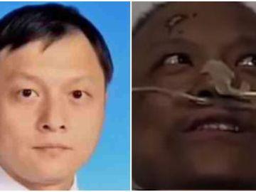 Yi Fan, médico chino que superó el coronavirus