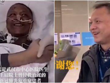 Yi Fan, el médico chino que despertó negro de un coma por coronavirus