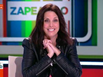"""Marta González de Vega revela en Zapeando la verdad de los chistes malos: """"Os voy a dejar muertos"""""""
