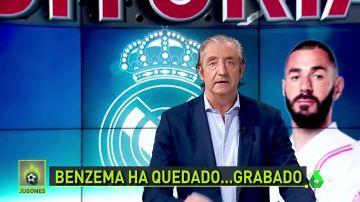 """Pedrerol: """"No hace que Zidane defienda a Benzeman, que pida perdón y punto"""""""