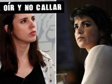 En la imagen, Irene Montero y Teresa Rodríguez