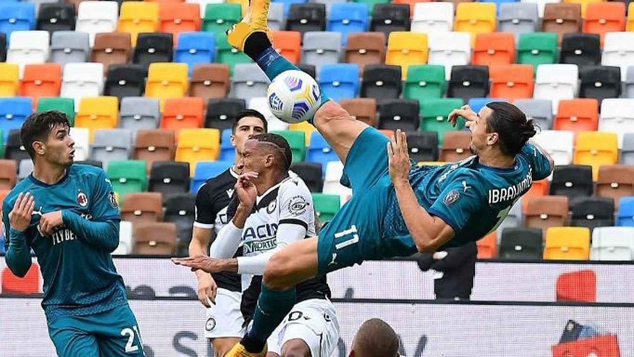 Ibrahimovic y su gran chilena
