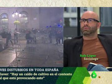 Rafa López, sociólogo