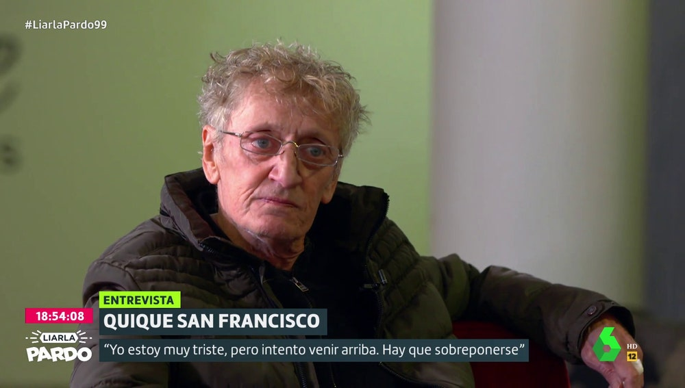 Quique San Francisco en Liarla Pardo.