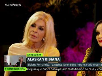 """Bibiana Fernández: """"La gente joven  tiene muy lejana la muerte, no han convivido con ella"""""""