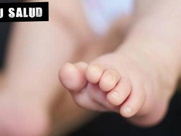 El pie de un bebé