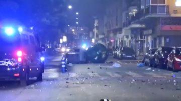 Disturbios en Málaga en protesta por el toque de queda