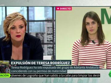 """Rita Maestre, sobre Irene Montero y Teresa Rodríguez: """"Es difícil de explicar que se expulse a alguien durante una baja de maternidad"""""""
