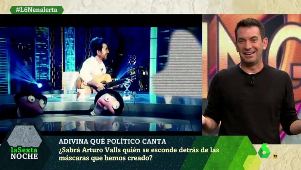 Arturo Valls en laSexta Noche