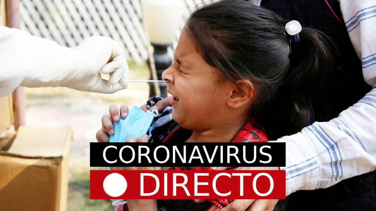 Coronavirus en España y Madrid: Última hora del estado de alarma y confinamiento por COVID-19 EN DIRECTO