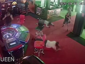 La Guardia Civil frustra un atraco a mano armada en un casino de Tenerife: el espectacular vídeo la operación