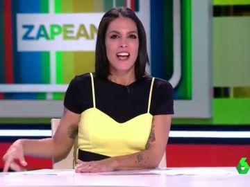El mal rato de Lorena Castell en directo tras la pregunta incómoda de Dani Mateo sobre un hombre