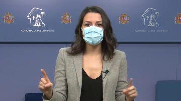 Inés Arrimadas pone condiciones al 'sí' a los Presupuestos:
