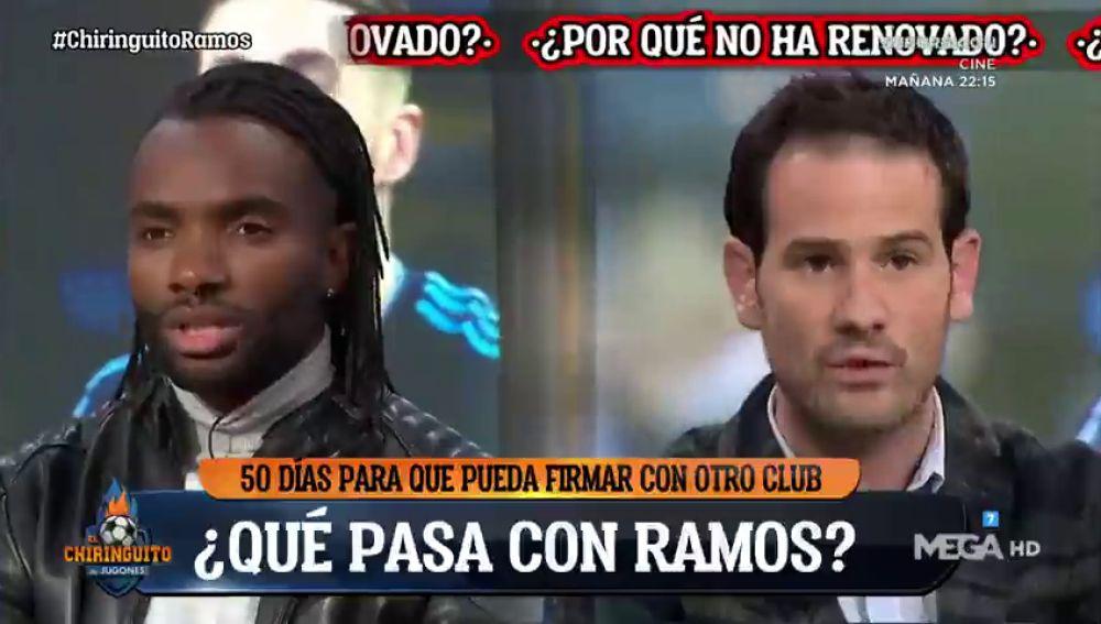¿Peligra la continuidad de Sergio Ramos?: ojo al tenso debate entre Quim Domènech y Javi Balboa