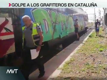 """El desprecio de un grafitero a un guardia de seguridad que temía """"perder el trabajo"""": """"Haberlo hecho bien y no habría pasado esto"""""""