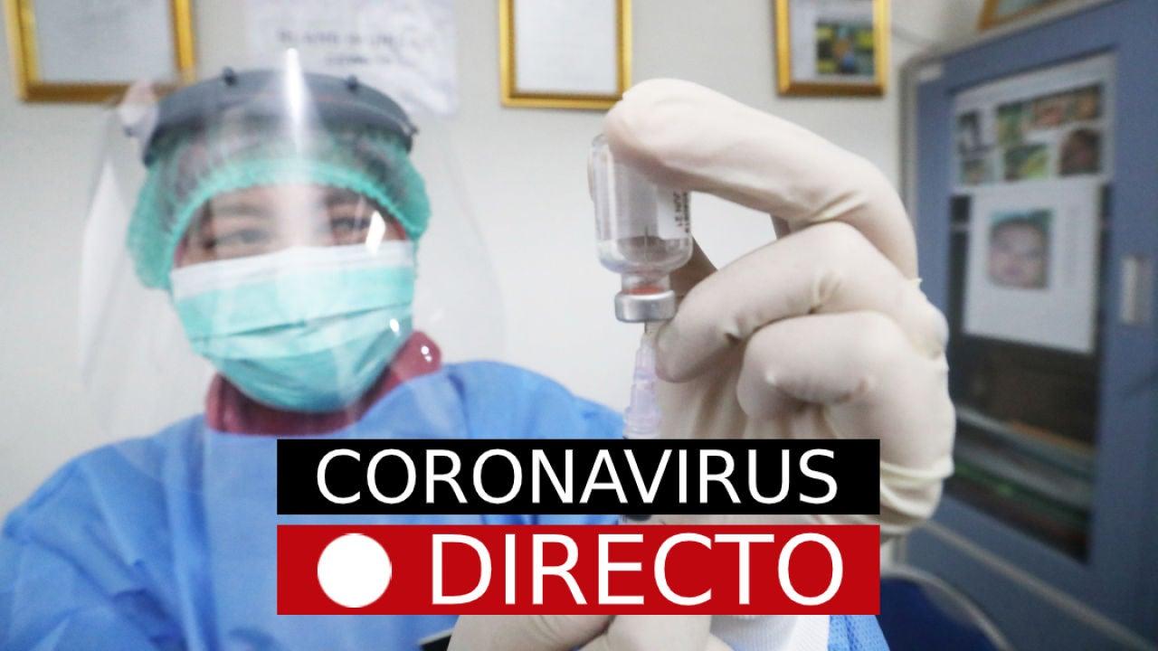 Coronavirus en España y Madrid, hoy: estado de alarma, toque de queda y noticias de la vacuna del COVID-19, EN DIRECTO