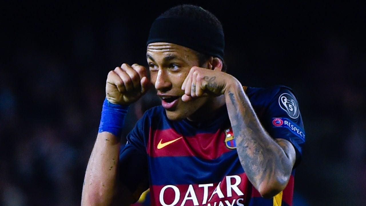 Neymar, en el FC Barcelona