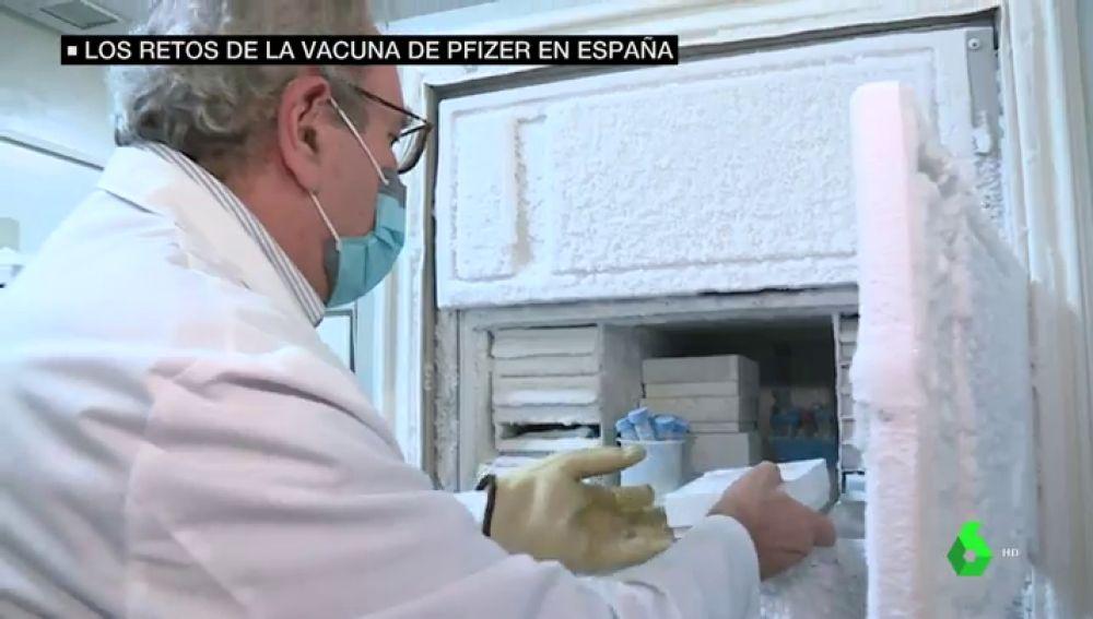 La solución al transporte a -80ºC de la vacuna de Pfzer: así llegará a España