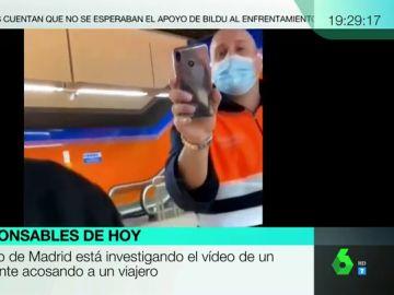 """""""¿Se lo vas a enseñar a tu papá?"""": expulsan a un vigilante de Metro de Madrid por su actitud amenazante con un joven"""