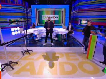 """El 'duro' duelo entre Quique Peinado y Miki Nadal en pleno plató de Zapeando: """"Estoy jodido, no valgo para nada ya"""""""