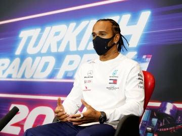 Hamilton en el GP de Turquía
