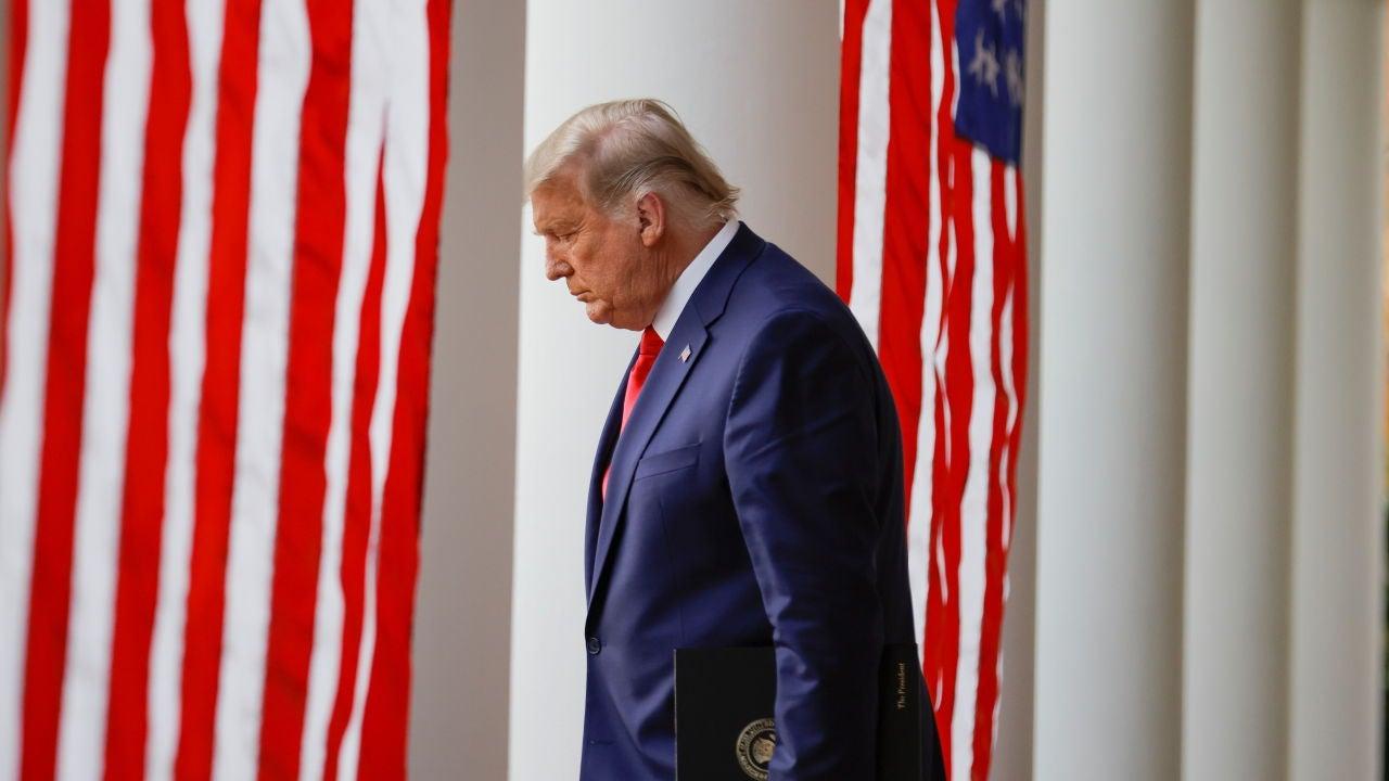 Donald Trump, en la Casa Blanca